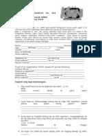 KNN Application Form