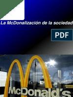 La McDonalización