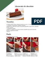 Extasiante Cheesecake de Chocolate