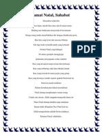 Kumpulan Puisi Natal Terbaik