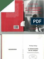 La demarcación de los cuerpos - Rodrigo Zúñiga