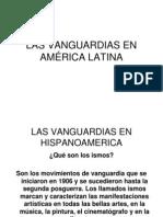 LAS VANGUARDIAS EN AMÉRICA LATINA