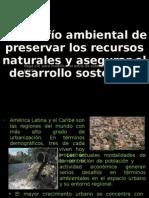 El desafío ambiental de preservar los recursos naturales