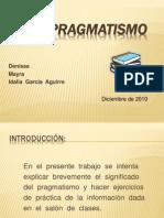 presentacion pragmatismo