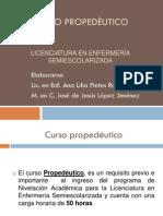 Curso Propedeutico Maestra Ana Fletes Maestro Jesus Lopez
