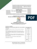 Petaling Perd STPM Q (Chem P2) - 2011