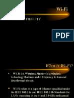 Wi Fi Presentation