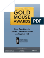 Cmf 112 Gold Mouse Awards