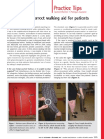 Choosing the Correct Walking Aid for Patients