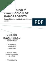 PROPULSIÓN Y CONDUCCIÓN DE NANORROBOTS