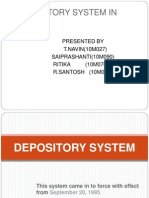Depository System (1)
