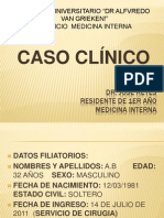 CASO CLINICO AB
