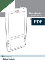 Alex User Manual