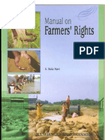 Manual on Farmers Rights