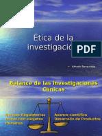 Etica de Investigacion