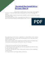 Cara Mudah Download Dan Install Driver VGA Nvidia Di Linux Mint 10