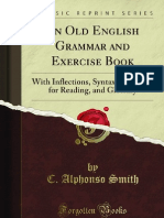 An Old English Grammar and Exercise Book - 9781440094309