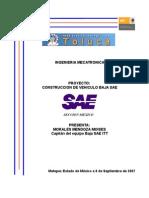 Proyecto Baja Sae