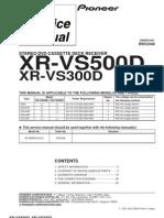 Pioneer XR-VS500D XR-VS300D Chassis RRV2340