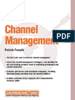 Book Channel Management