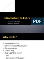 Extjs Presentation