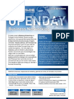 Openday Business Networking