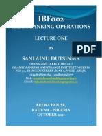 Ibf002 Cibf Lecture 1