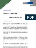 Articolo21 Mercato M&A