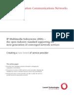 IMS Next Gen Comm Networks 080905