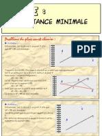 Distance Minimale