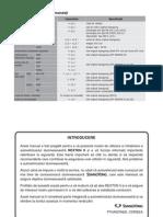 Manual de Utilizare Rexton II