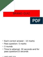 Brand Quiz