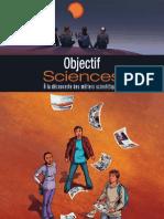 bande dessinée Objectif Sciences  à la découverte des métiers scientifiques
