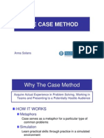 The Case Method Asolans