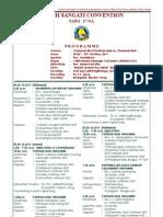 Masihi Sangati 2011 Programme