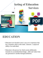 Marketing of Educational Services