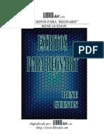 Guenon, Rene - Escritos Para Regnabit