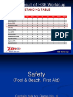 Safety in the Pool and Beach