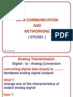 DCN A03 Analog Transmission