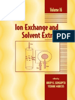 Ion Exchange and Solvent Extraction a Series of Advances_Vol_16