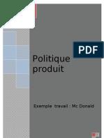 Politique Produit Doc