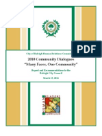 2010 Community Dialogues Report