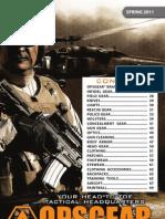 OPSGEAR Spring Catalog 2011