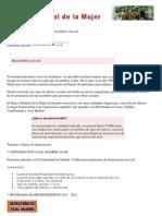 BANCO MUNDIAL DE LA MUJER - microcréditos
