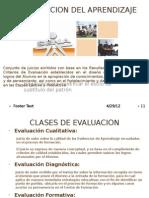 Wilman La Evaluacion Del Aprendizaje