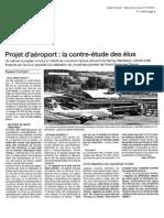revue presse 27 cot 2011 - contre étude NDDL