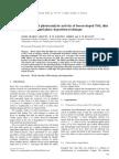 Characterization and Photo Catalytic Activity of Boron Doped TiO2