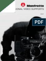 GB MANFROTTO Video Catalogue 2007
