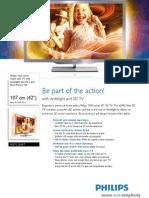 42pfl7666t Leaflet