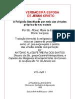 Sto Afonso de Ligorio - A Verdadeira Esposa de Cristo - I